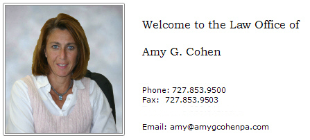 Amy G. Cohen P.A. Family and Circuit Civil Mediation